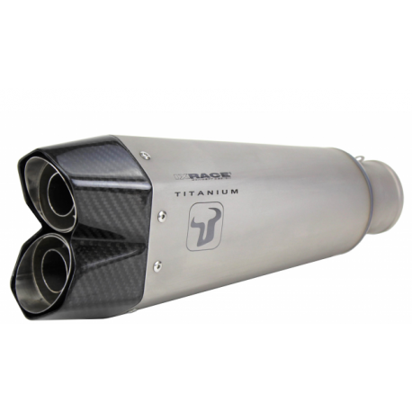 MIVV DOUBLE GUN Pot D/'Echappement racing titane SUZUKI GSR750 2011-11