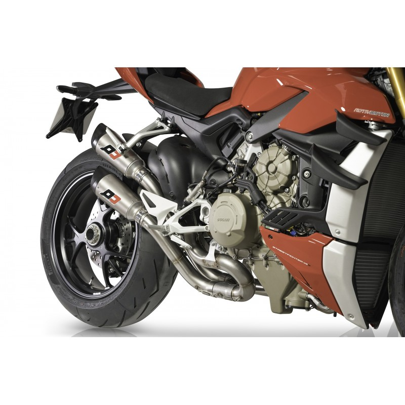 pot dEchappement moto Qd Exhaust GUNSHOT DUCATI 1260