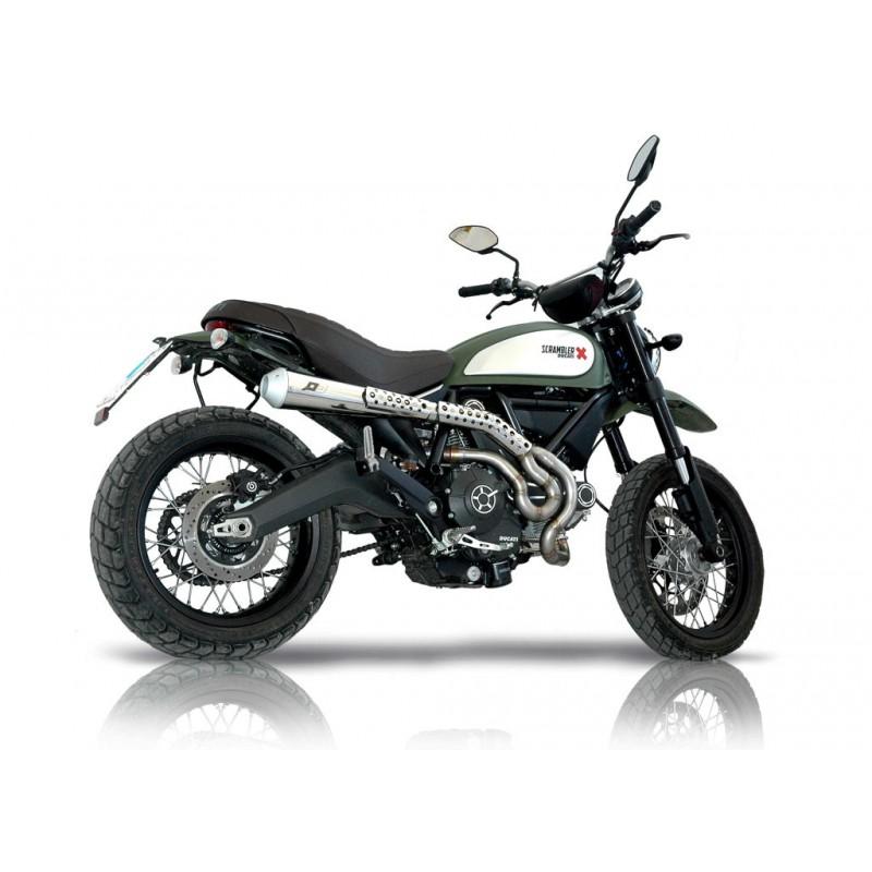 Echappement moto Qd Exhaust EX-BOX DUCATI 796 HYPERMOTARD